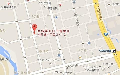 天ぱり地図