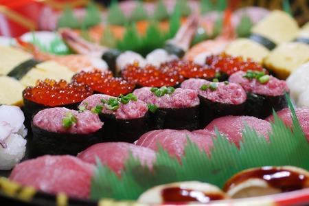 寿司が美味しかった。