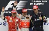 wwe F1ヨーロッパ表彰台