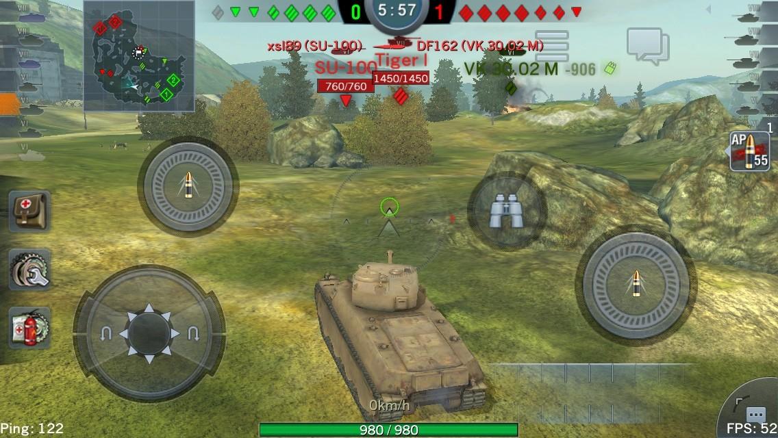 手の平戦車長がゆく World of Tanks Blitz タグ:弾薬庫    tier5アメリカ駆逐戦車M10 Wolverine