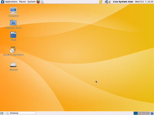 Fedora12-yellow