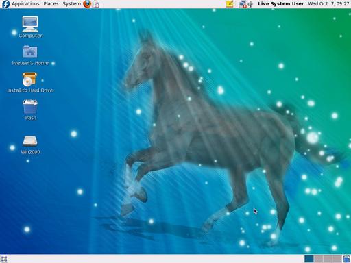Fedora12-a-horse