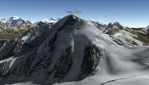 チュルー最東峰