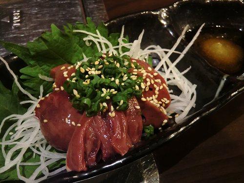 魚とお肉居酒屋だい/*とり肝刺身*/ (6)