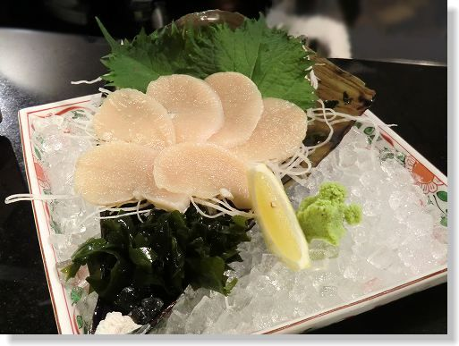 お魚と肉 こだわり居酒屋 だい∥*活たいらぎ貝柱(平貝)*2500∥ (8)