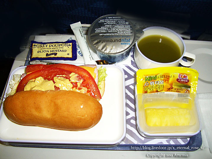 機内食 お土産 龍の髭(クルタレ)くるみまんじゅう 油菓 韓国 9