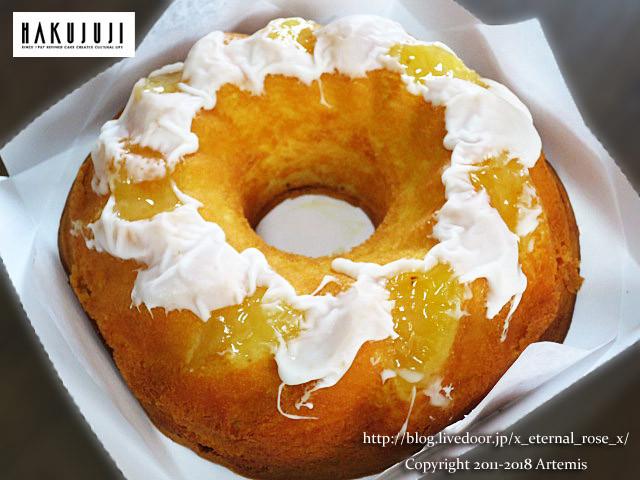 白 十字 ケーキ