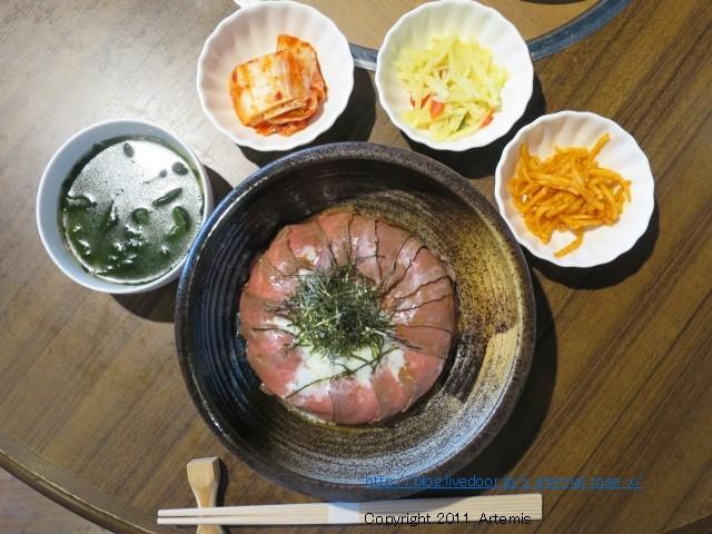 新オープン 祇園肉の道 ローストビーフ丼