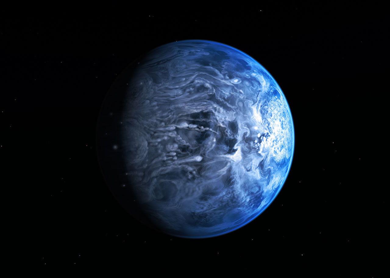 青色の太陽系外惑星:科学ニュースの森