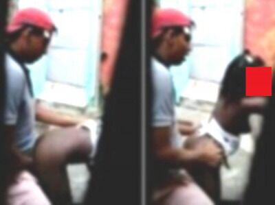【動画あり】障害者の少女(140cm前後)が性欲処理に使われてる衝撃映像…