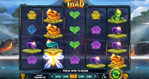 Fire-Toad-Slot-At-Online-Casino