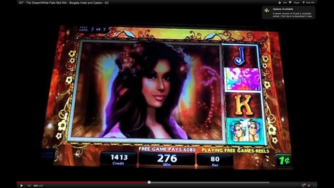 White Falls slot machine2