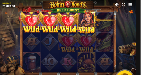 New-Online-slot-Game-Robin-Hood-Wild-Forest-Of-Red-Tiger-Gaming