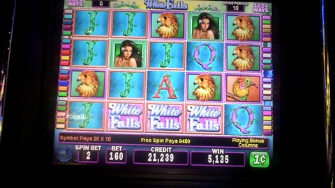 White Falls slot machine1