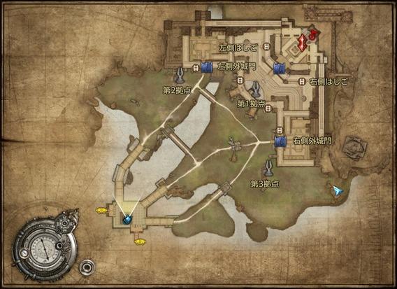 TERA 砲火の戦場:MAP