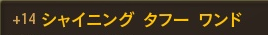 Sタフー+14