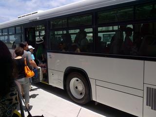 19JUL2014 CI121 OKATPE バス搭乗orz