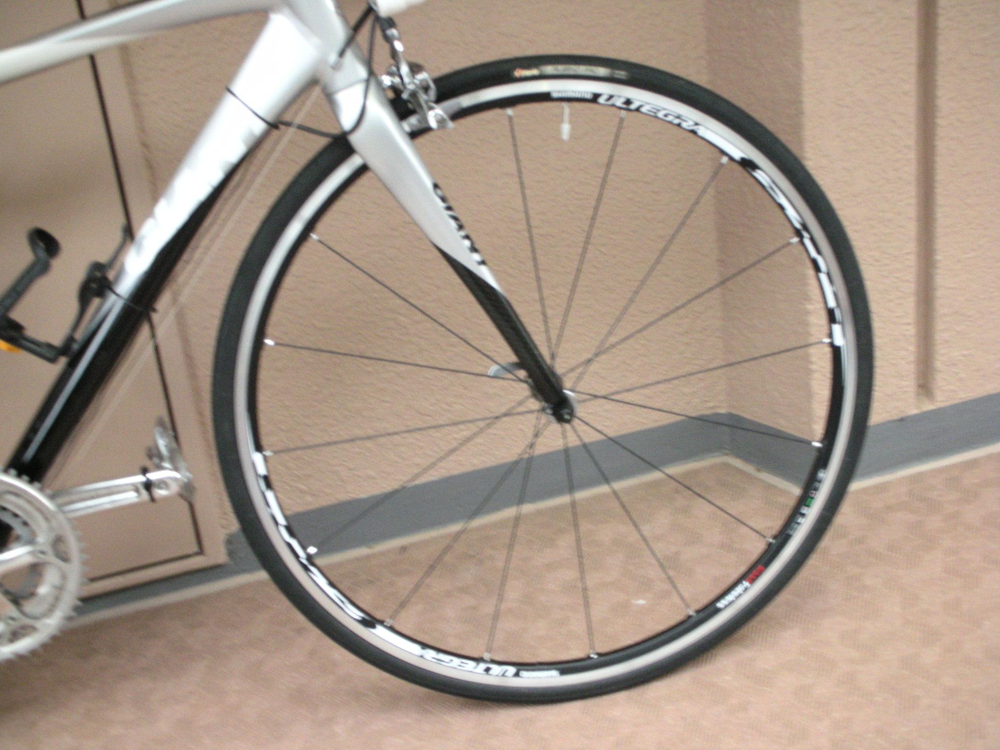 ホイールとブレーキを交換しました : 阿房自転車
