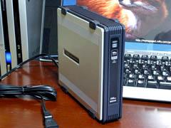160GB 外付けHDD