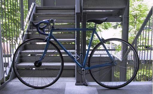 自転車の 自転車 車の中 固定 : Road固定車(40tx16t)復活 : xlboron ...