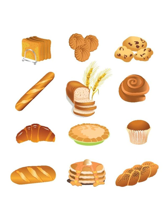 bakery-products-vector