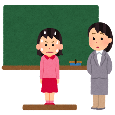 school_kokuban_happyou_tenkousei_kinchou_girl