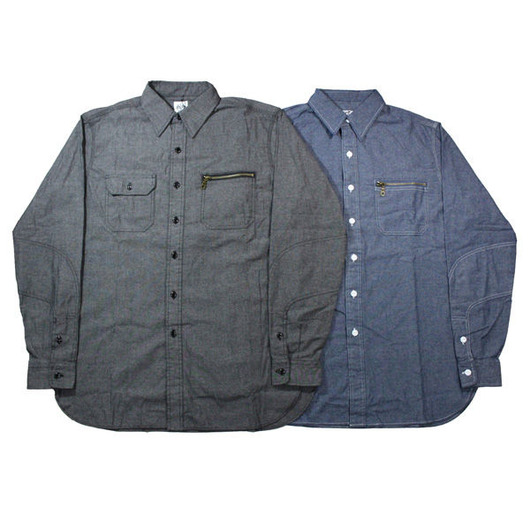 BWG シャンブレーシャツ