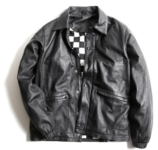 BWG LEATHER JKT