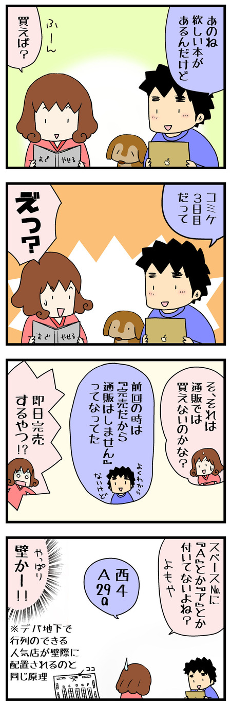 コミケレポ漫画