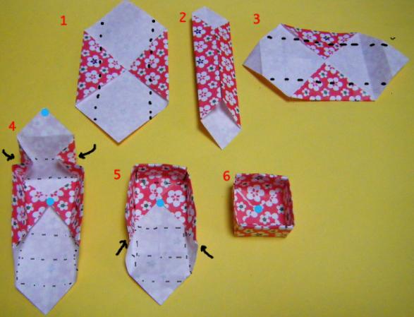 ハート 折り紙 折り紙 作り方 箱 : studental.net