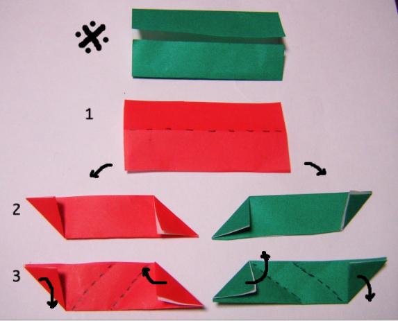 ハート 折り紙:折り紙 折り方 クリスマス-divulgando.net