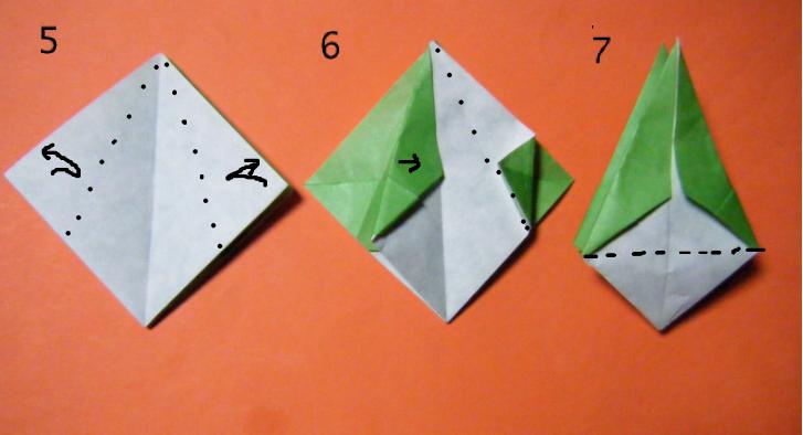 ... :《折り紙 花かごの折り方 : 折り紙 カゴ 折り方 : 折り方