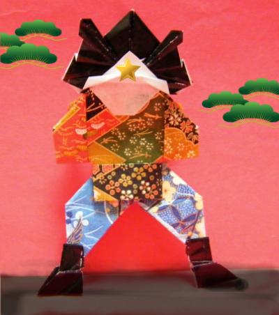 ハート 折り紙 折り紙やっこさんの作り方 : blog.livedoor.jp