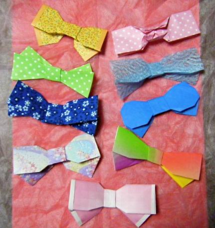 ハート 折り紙:リボンの折り方 折り紙-blog.livedoor.jp