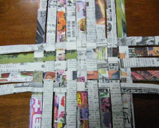 ハート 折り紙 新聞紙 箱 折り方 : divulgando.net
