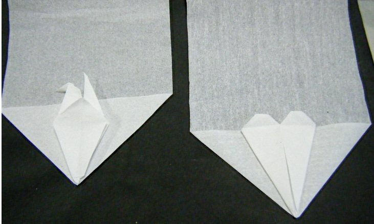 クリスマス 折り紙 折り紙 つる : blog.livedoor.jp