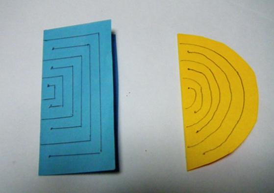 折り紙七夕飾り