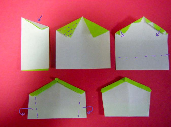 ハート 折り紙 : 折り紙鍋敷き作り方 : blog.livedoor.jp