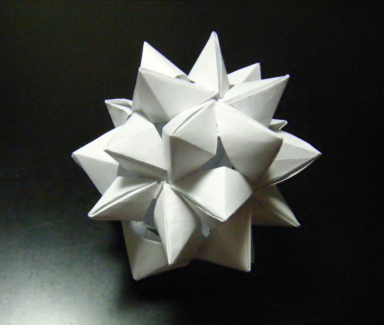 花 折り紙 花 折り紙 作り方 : ... 動画で作るユニット折り紙