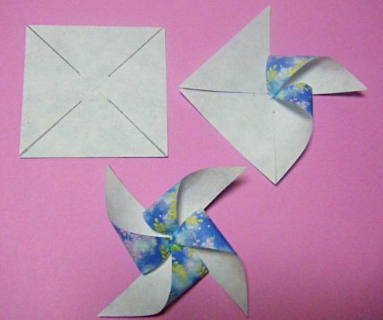 折り 折り紙 折り紙 風車 作り方 : blog.livedoor.jp