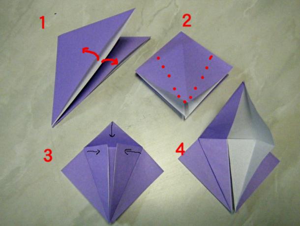 すべての折り紙 折り紙 くす玉 花 : 永遠の破片:《折り紙 連鶴・妹 ...
