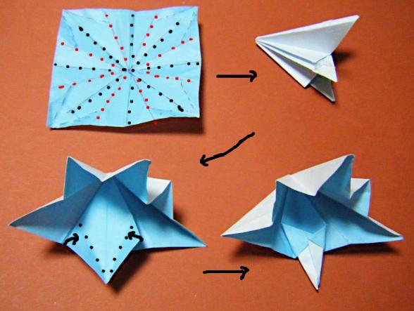簡単 折り紙 折り紙ハート鶴折り方 : divulgando.net