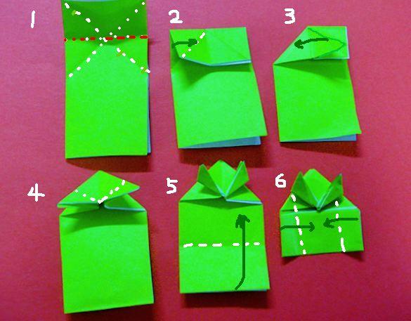 ぴょんぴょん 蛙 の 折り 方 ... : 折り紙 ぴょんぴょんカエルの折り方 : すべての折り紙