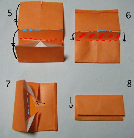 折り紙の 折り紙 財布の作り方 : blog.livedoor.jp