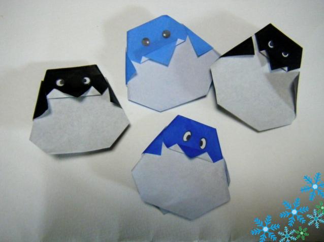 ハート 折り紙 ペンギン 折り紙 折り方 : blog.livedoor.jp