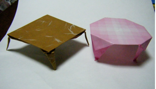 ハート 折り紙 折り紙 テーブル : blog.livedoor.jp