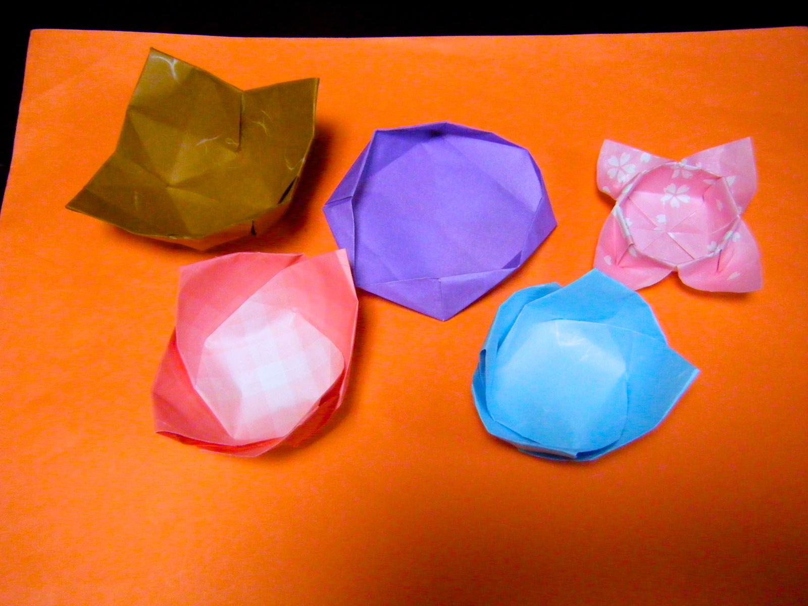 すべての折り紙 折り紙 食べ物 : 実用折り紙 暮らしの箱・う ...