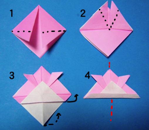 簡単 折り紙:こいのぼり 折り紙 折り方-divulgando.net