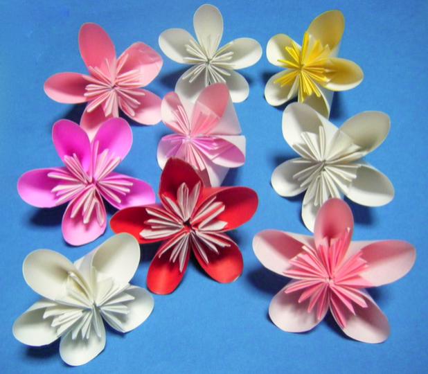 すべての折り紙 星の作り方 折り紙 : 折り紙を使った花の作り方58選 ...