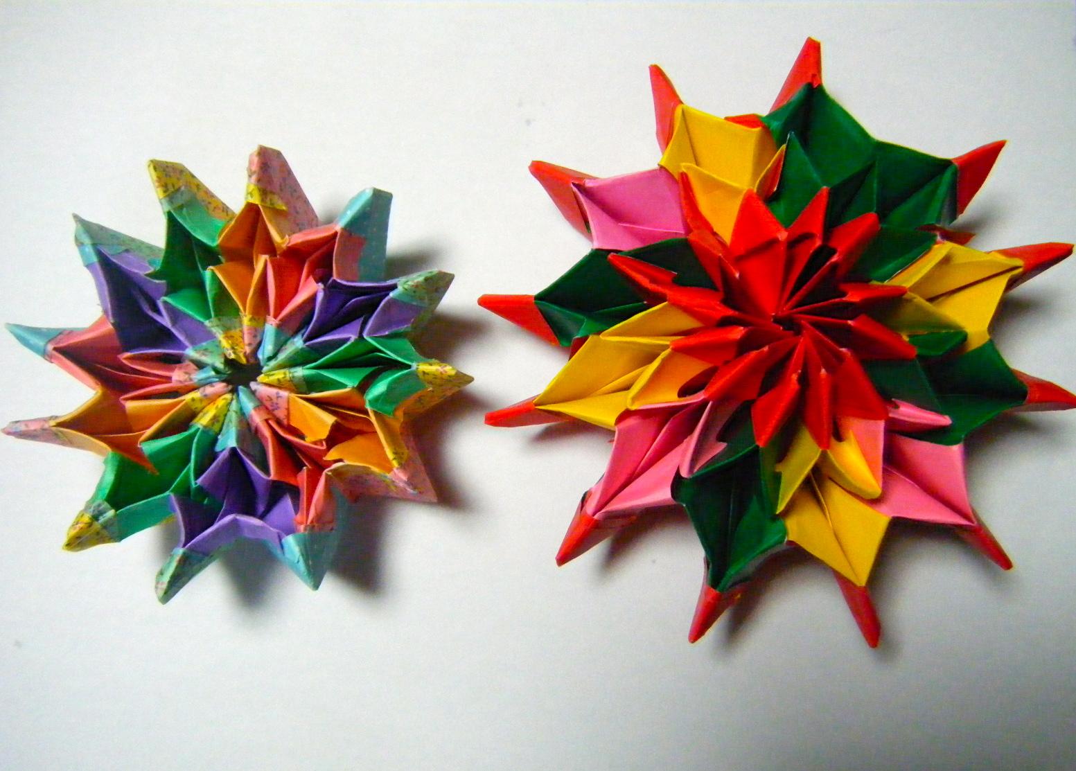 折り紙の 折り紙のくす玉 : DSCF8726 タグ : 折り紙 ユニット ...